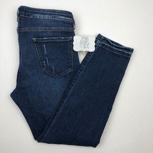 Etienne Marcel Jeans - Etienne Marcel Distressed Skinny Jeans